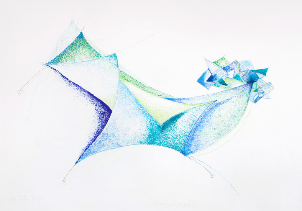 Dessin Gariole 2 / Drawing Gariole 2