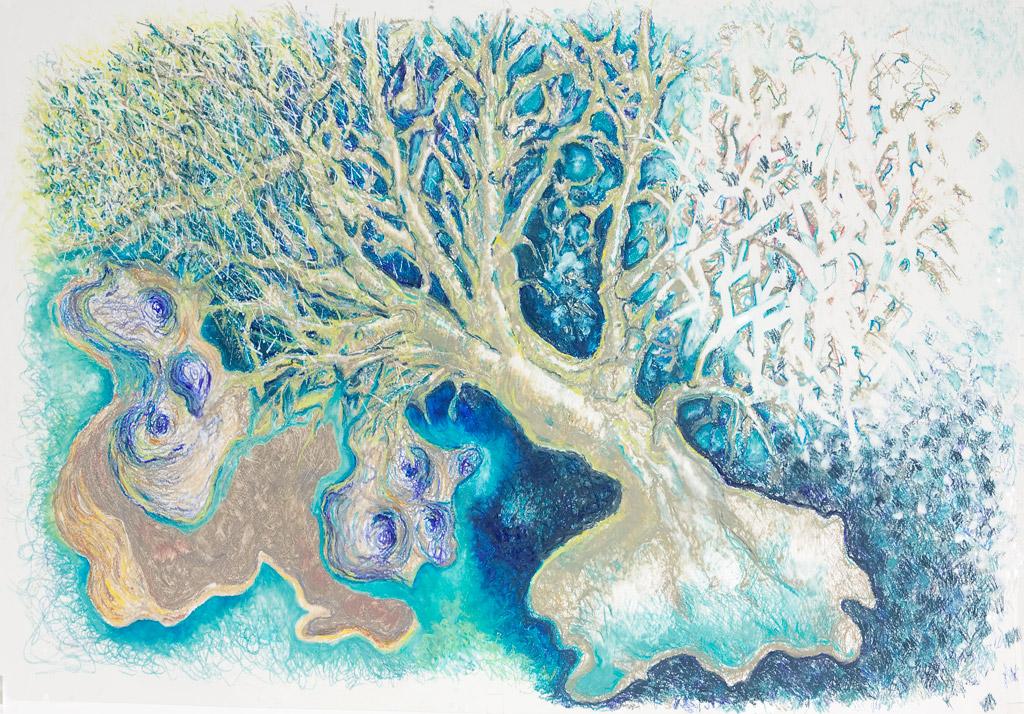 Le Trompetenbaum et lacs / The Indian Bean Tree and Lakes