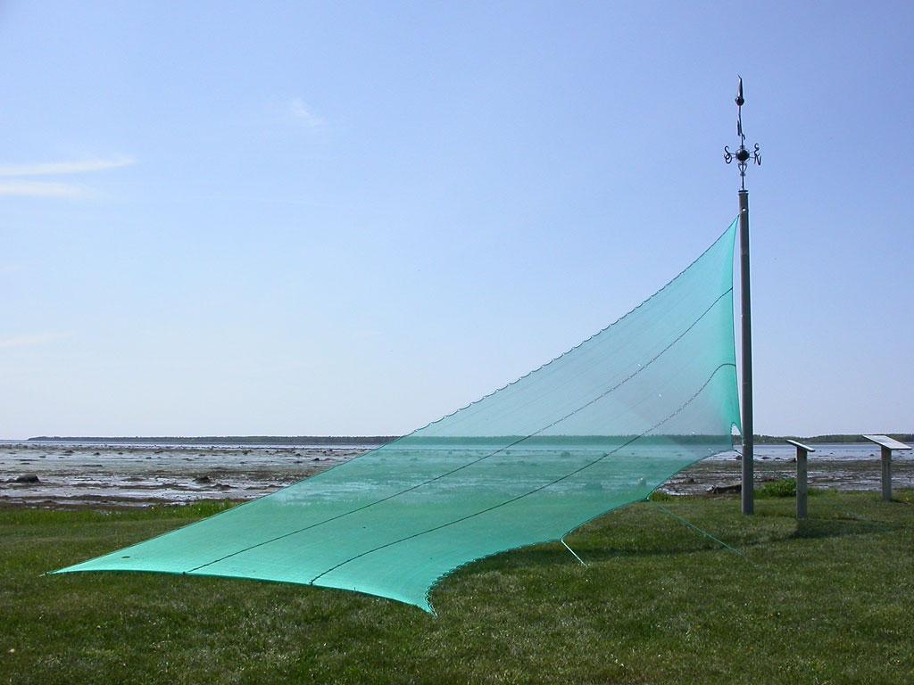 Filet extérieur dans un parc / Outdoor Net in a Park